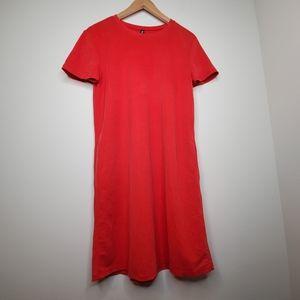 Zara Relaxed Fit Shift Tshirt Dress w Pockets